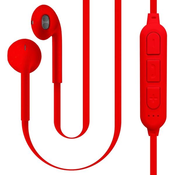Беспроводные наушники QUB STN-178 Red