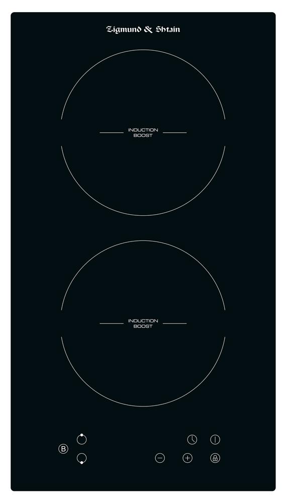 Встраиваемая индукционная панель Zigmund&Shtain CI 33.3 Black