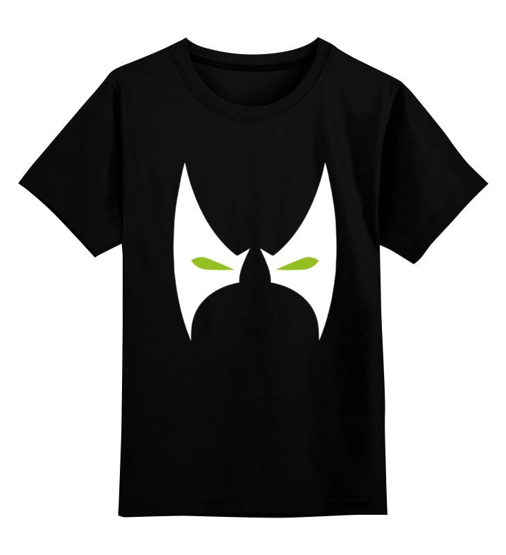 Купить 0000000763685, Детская футболка Printio Спаун spawn цв.черный р.140,