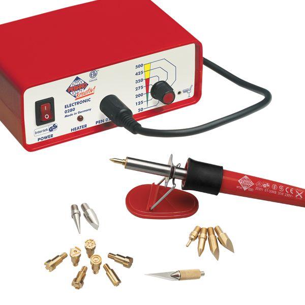 Выжигательный аппарат с насадками Pebaro 0280