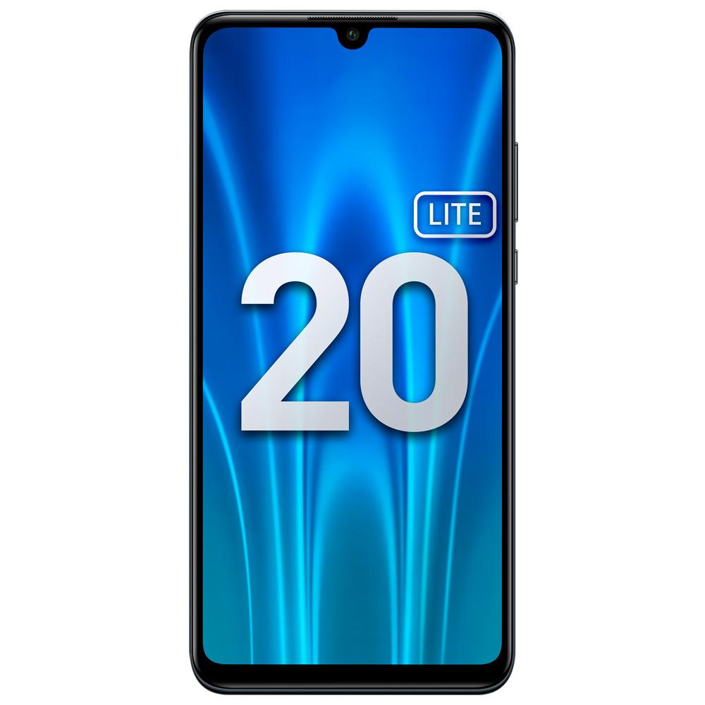 Смартфон Honor 20 Lite 4+128Gb Midnight Black (MAR-LX1H) фото