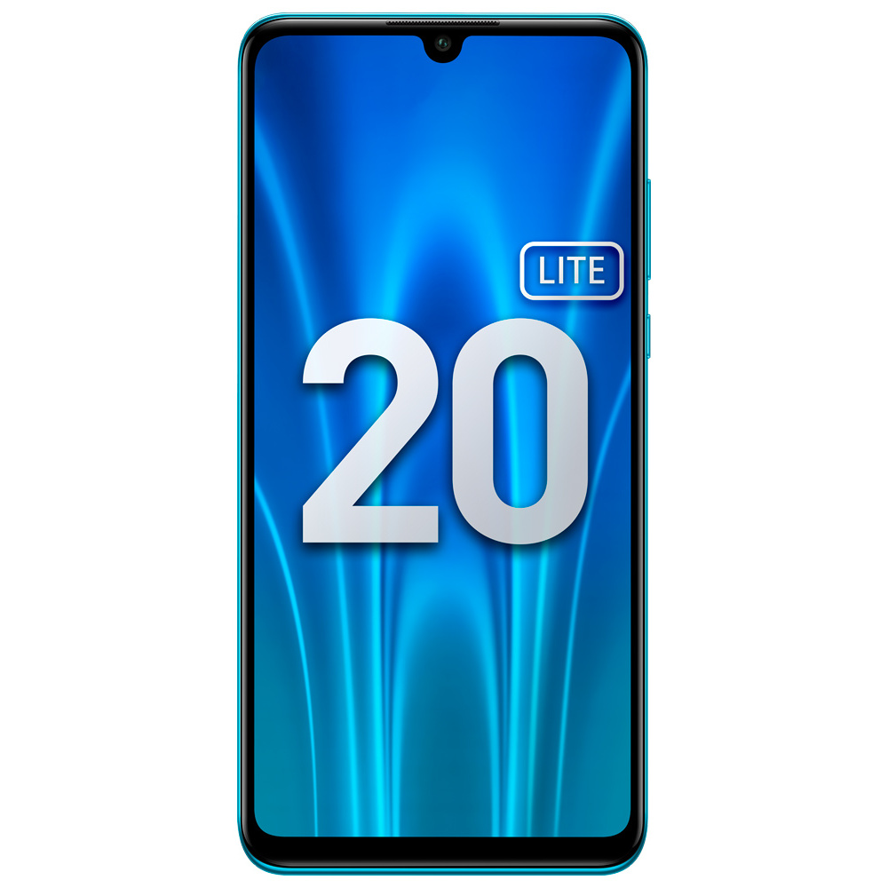 Смартфон Honor 20 Lite 4+128Gb Peacock Blue (MAR-LX1H) фото