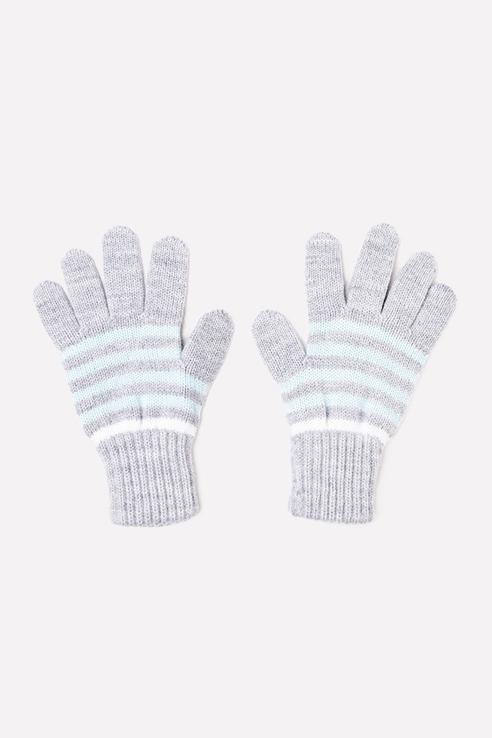 Перчатки детские CROCKID цв. серый р.14