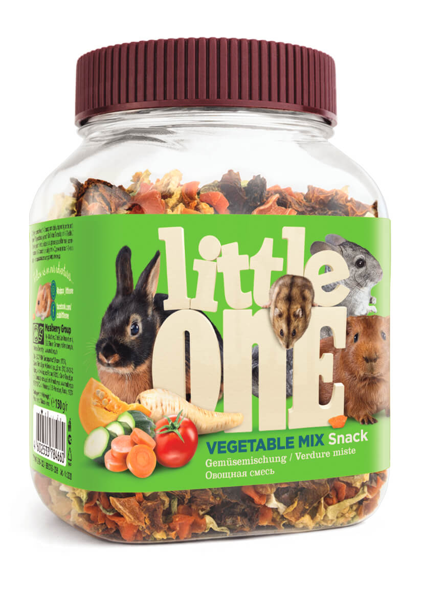 Лакомство для грызунов Little One овощная смесь,