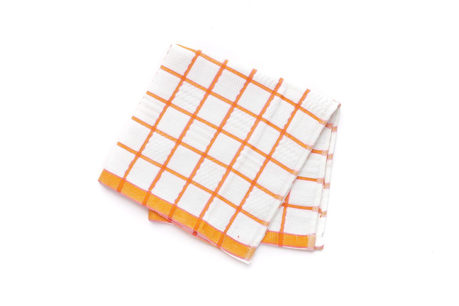 Салфетка-полотенце кухонное микрофибра/хлопок 52*52см по цене 465