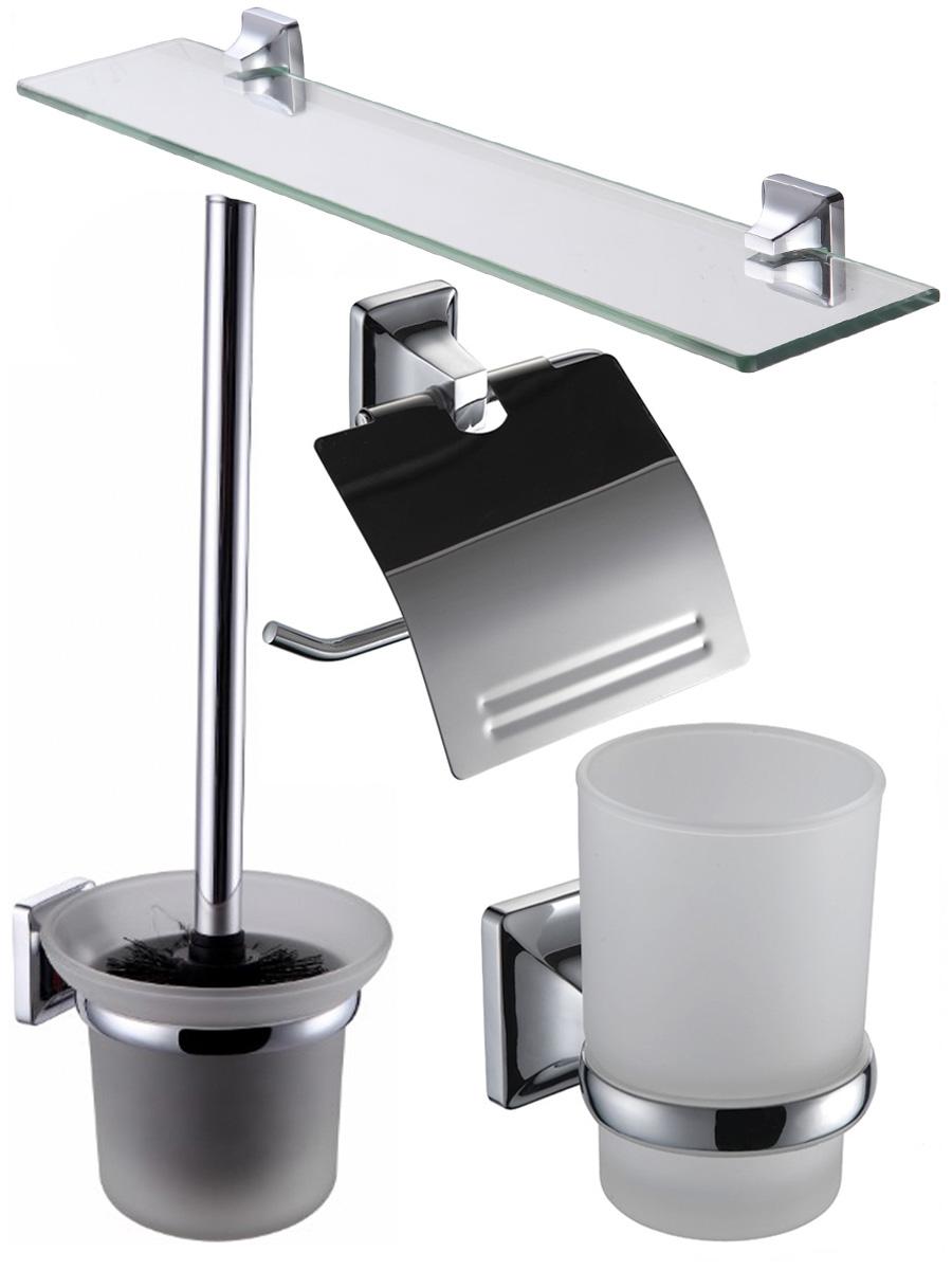 Комплект аксессуаров для ванной BATH PLUS PR-9900-4