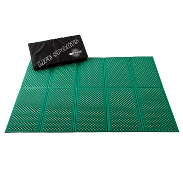 Коврик Life Sports Twin Mat зеленый 200 x 160 x 1 см