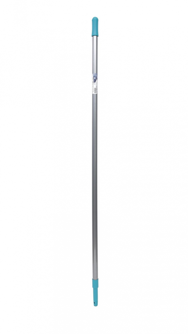 Ручка для швабры стеклопластик с резьбой серый