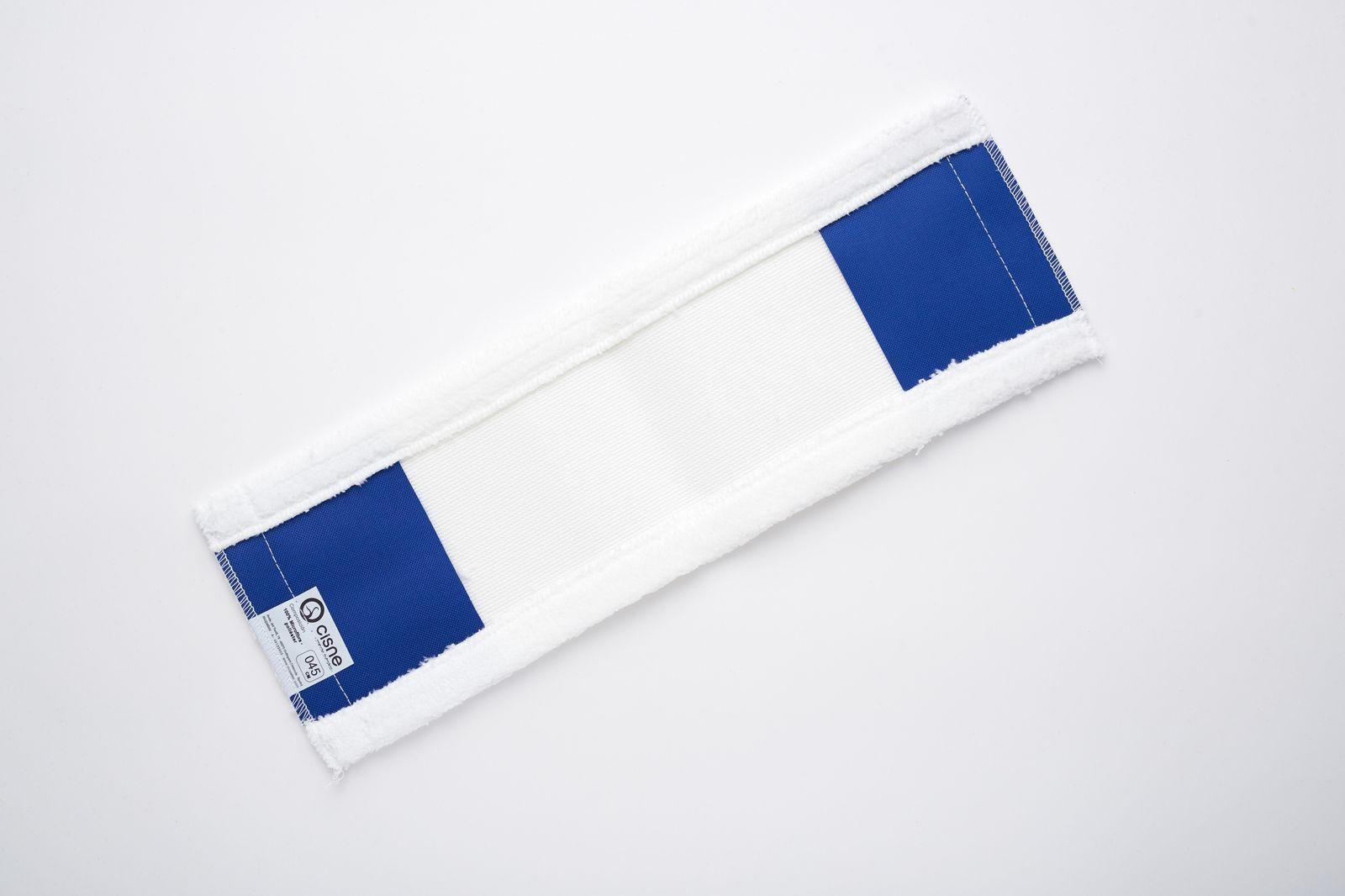 Насадка для швабры плоская микрофибра белый 45см по цене 536