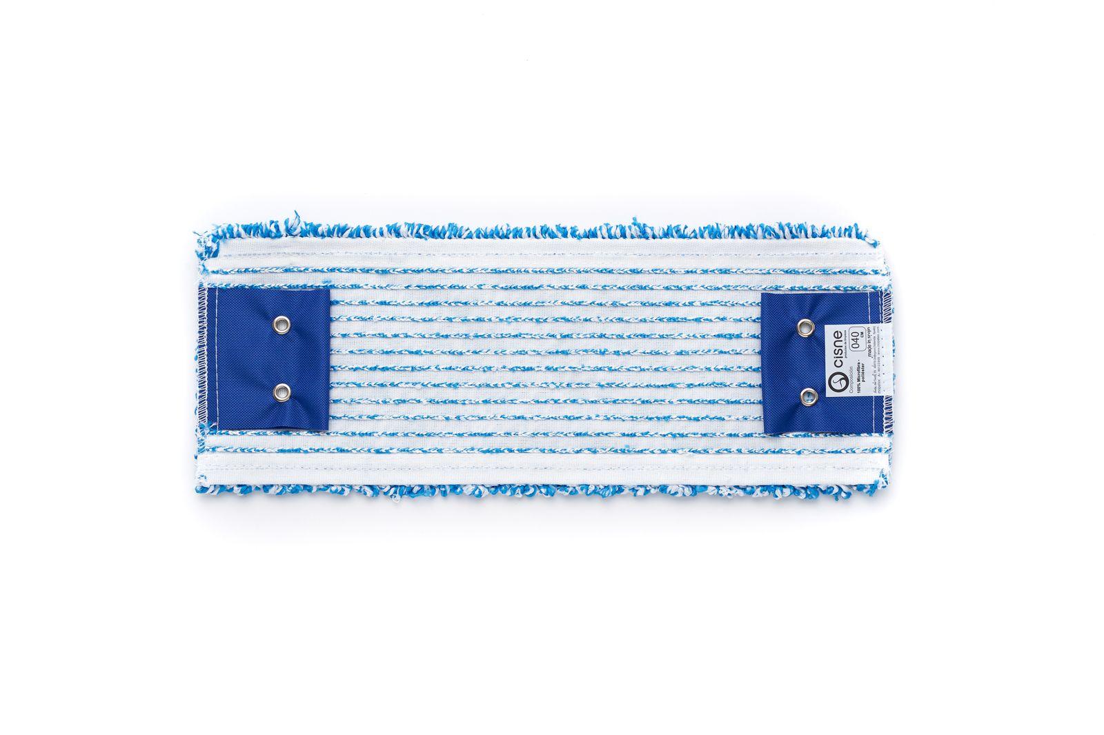 Насадка для швабры WET проф. плоская микрофибра синий/белый 40см WET по цене 672