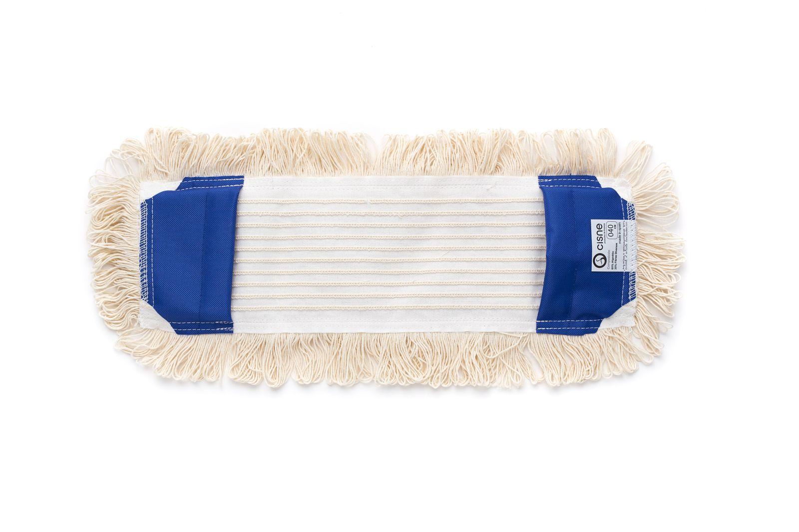 Насадка для швабры SWAN проф. плоская хлопок белый 40см SWAN по цене 536
