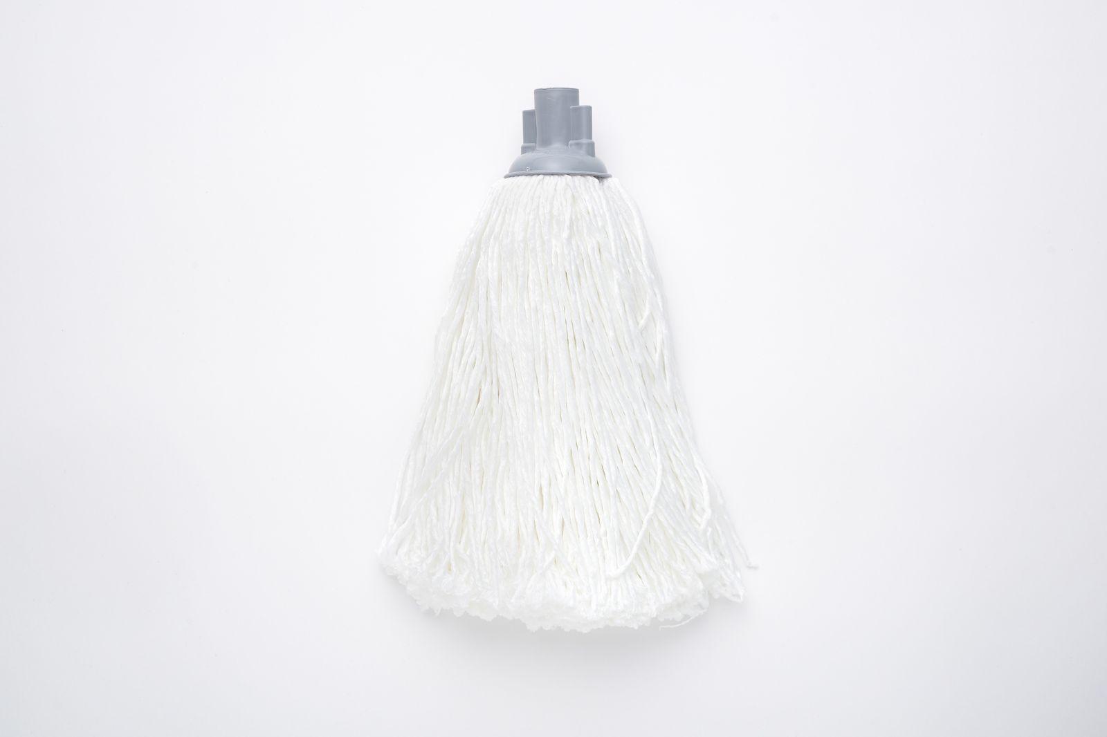 Насадка для швабры с резьбой верёвочная микрофибра белый 150г по цене 358