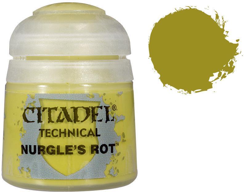Купить Техническая краска Nurgle's Rot 27-09, Games Workshop,