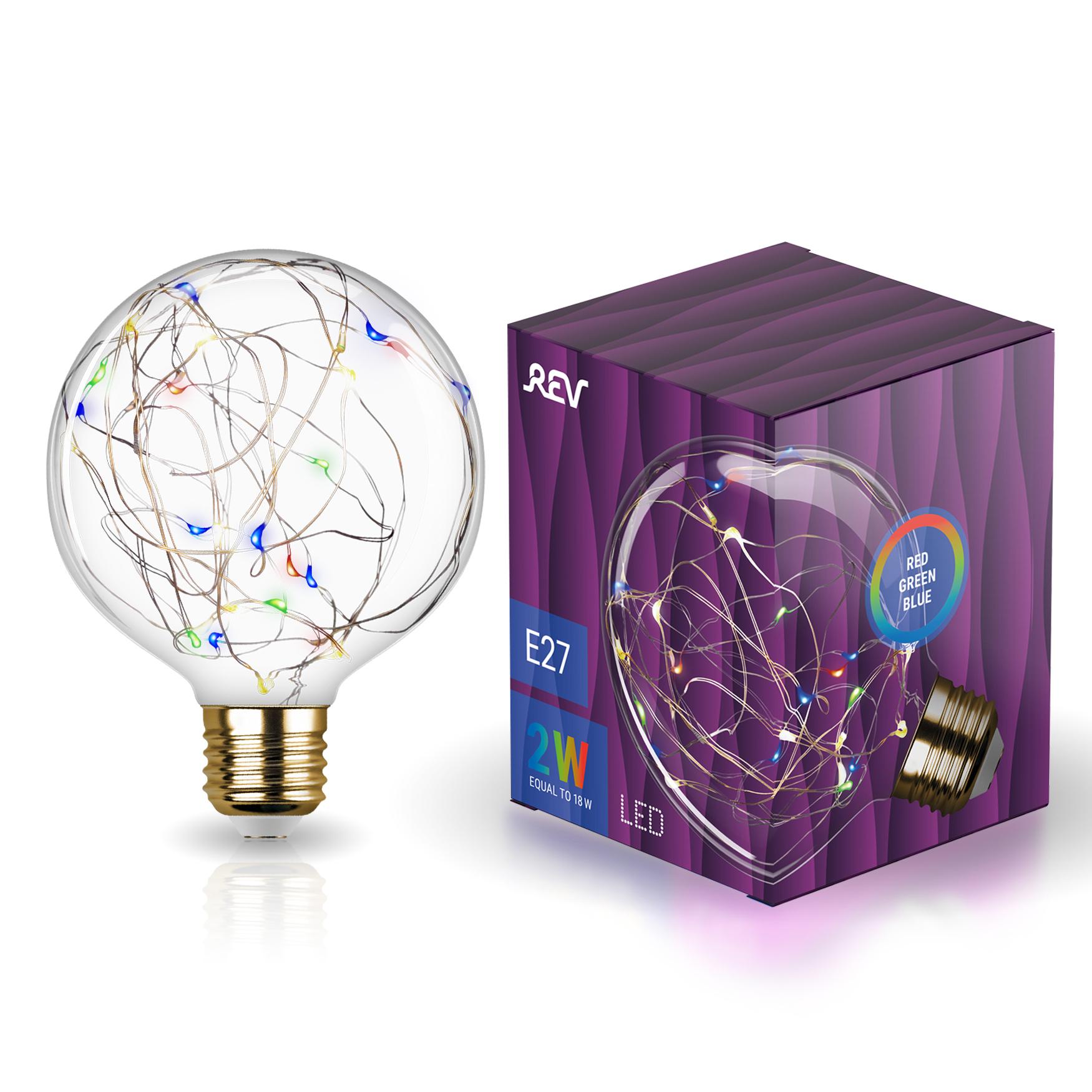Лампа светодиодная REV VINTAGE RGB Starry