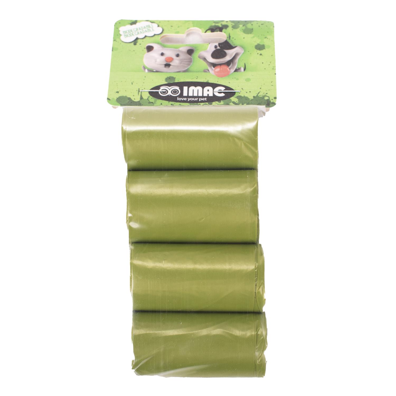 Пакеты для выгула IMAC Rotoli Sacc Igienici зеленый, 8 рулонов по 15 шт- обзор, преимущества, отзывы. Заказать товар для животных за 406 руб. Бренд IMAC