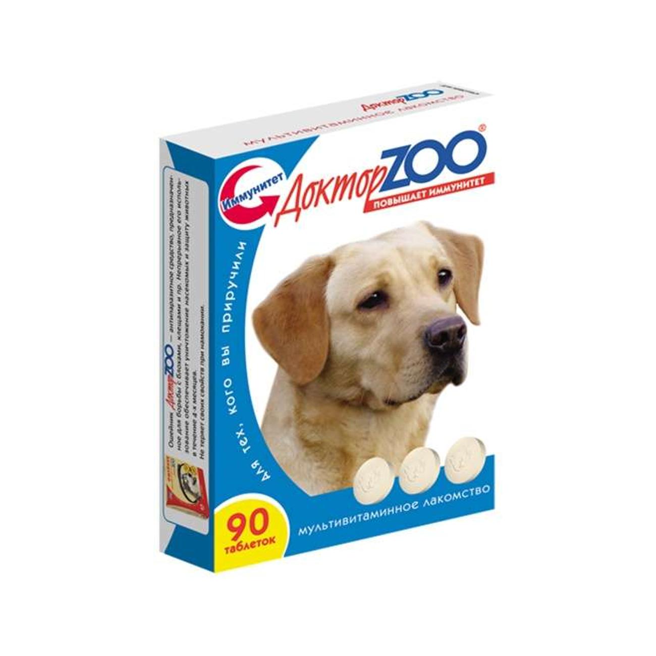 Витаминный комплекс для собак Доктор ZOO Здоровая