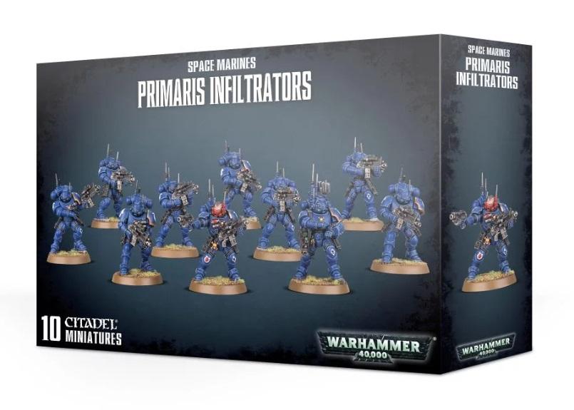 Миниатюры Warhammer 40000: Space Marines Primaris Infiltrators