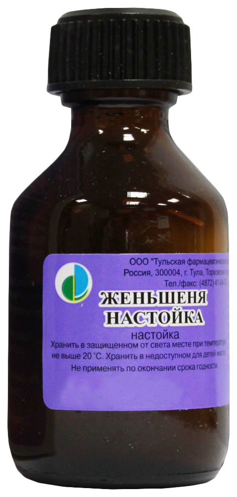 Женьшеня настойка фл.25 мл №1