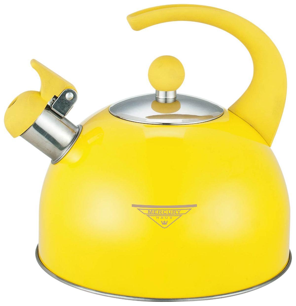 Чайник для плиты MercuryHaus MC-6603 (12) 2.5 л. со свистком
