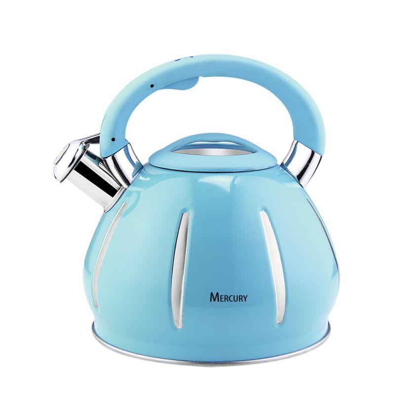 Чайник для плиты Mercury MC-6585 (12) 3,5 л, со свистком