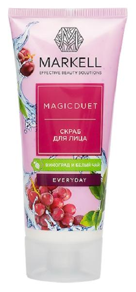 Скраб для лица Markell Magic Duet Виноград