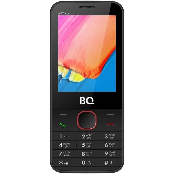 Мобильный телефон BQ 2818 ART XL+ Red/Black