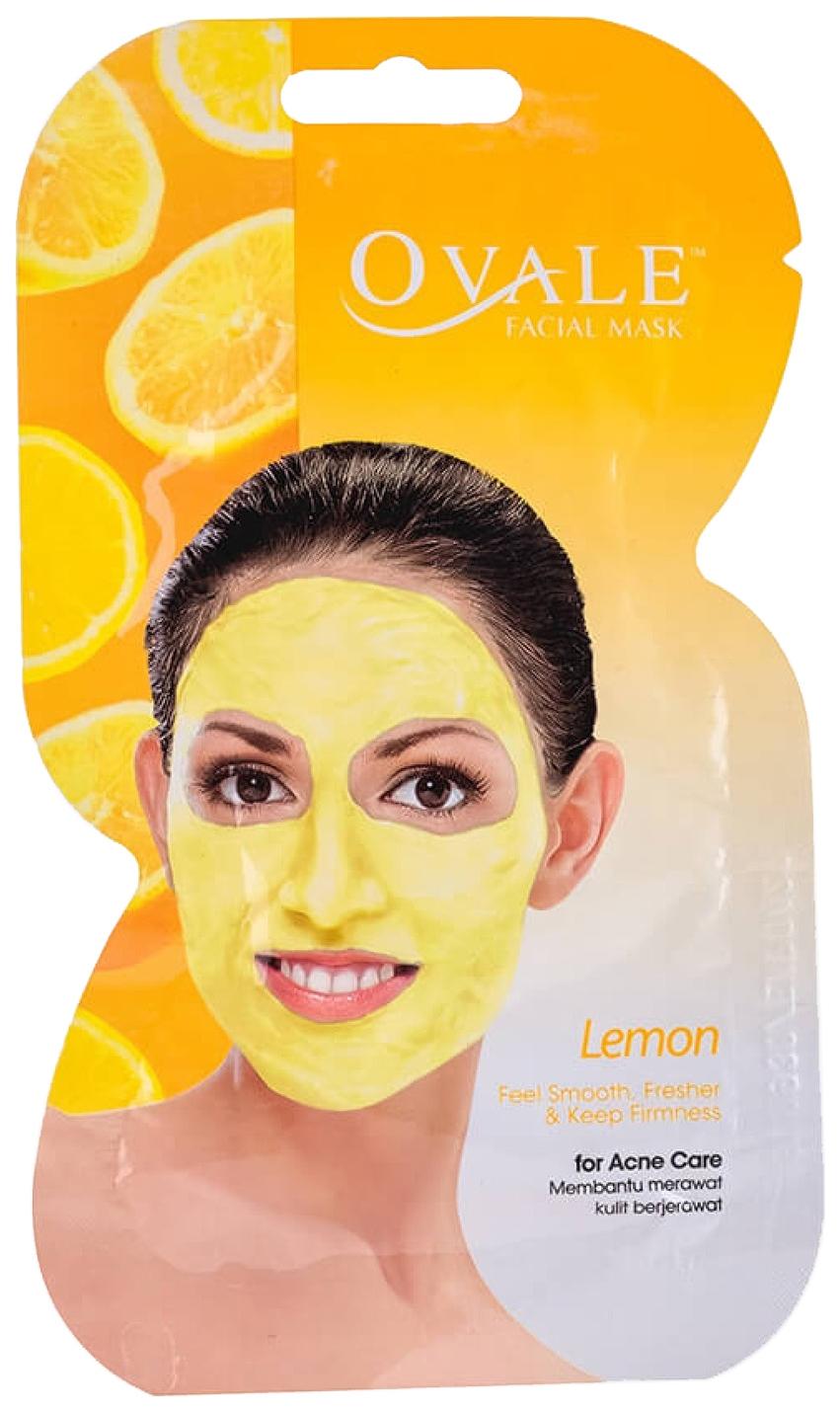Маска для лица Ovale Lemon 15 г