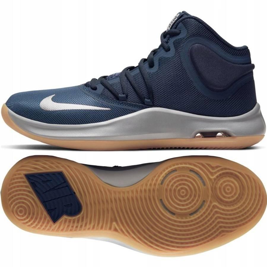 Кроссовки баскетбольные Nike Air Versitile IV, 41.5, темно-синий, синтетика фото