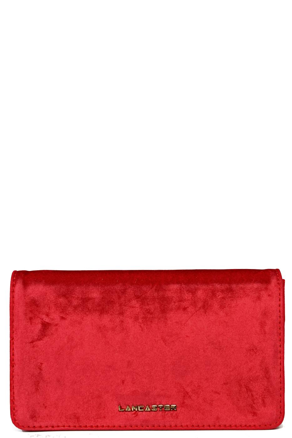 Клатч женский Lancaster B30078-LCS519-10 красный