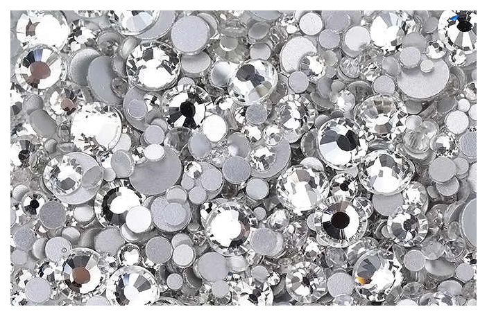 Купить Стразы TNL Professional Кристалл mix Серебро