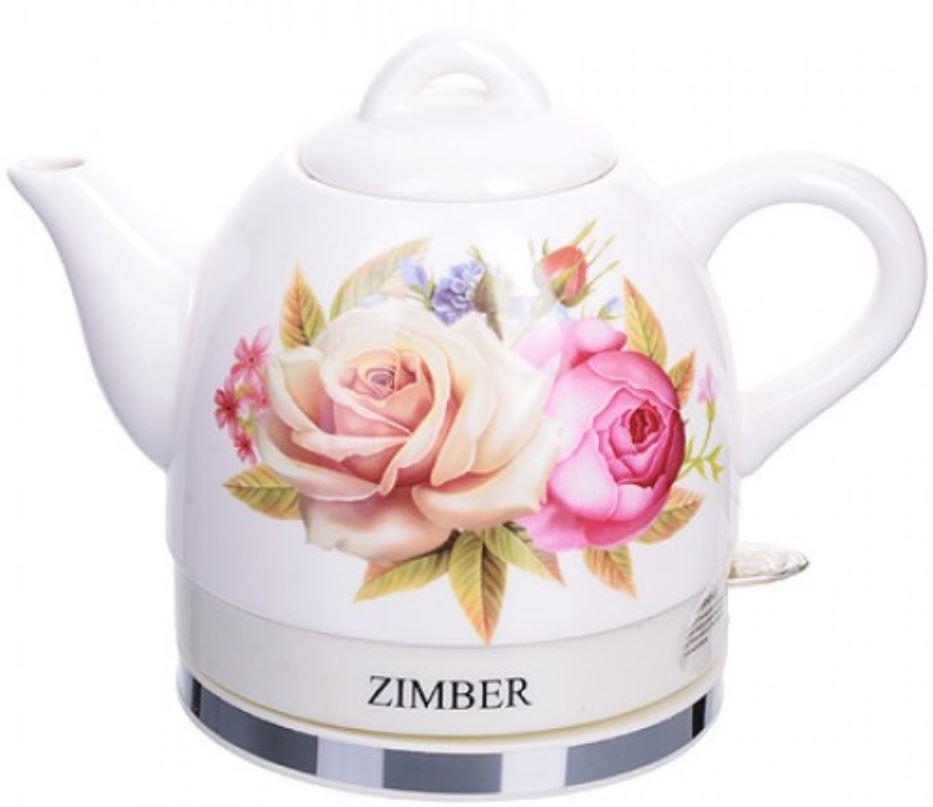 Чайник электрический Zimber ZM 11232 White