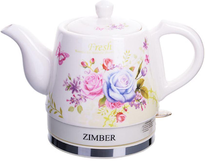 Чайник электрический Zimber ZM 11231 White