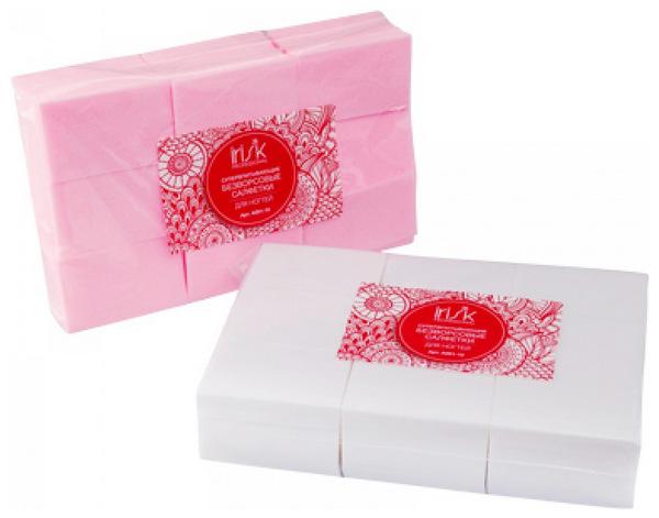Купить Безворсовые салфетки IRISK professional Безворсовые супервпитывающие 600 шт розовые