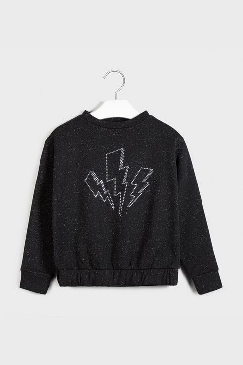 Пуловер Mayoral 7401 цв.черный р.140