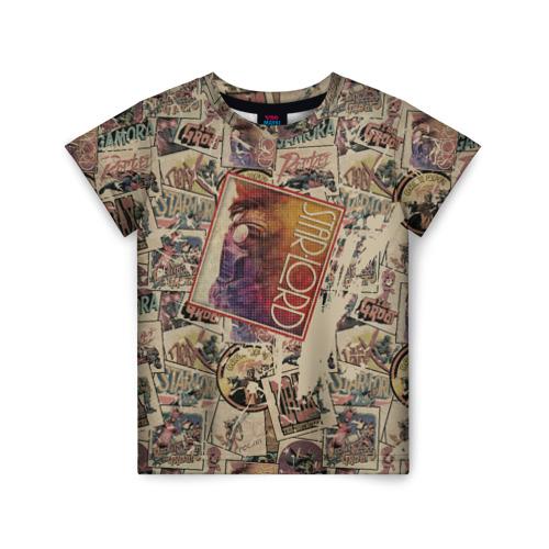 Купить 3D Star-Lord - 2166423, Детская футболка ВсеМайки 3D Star-Lord, размер 128, VseMayki.ru,