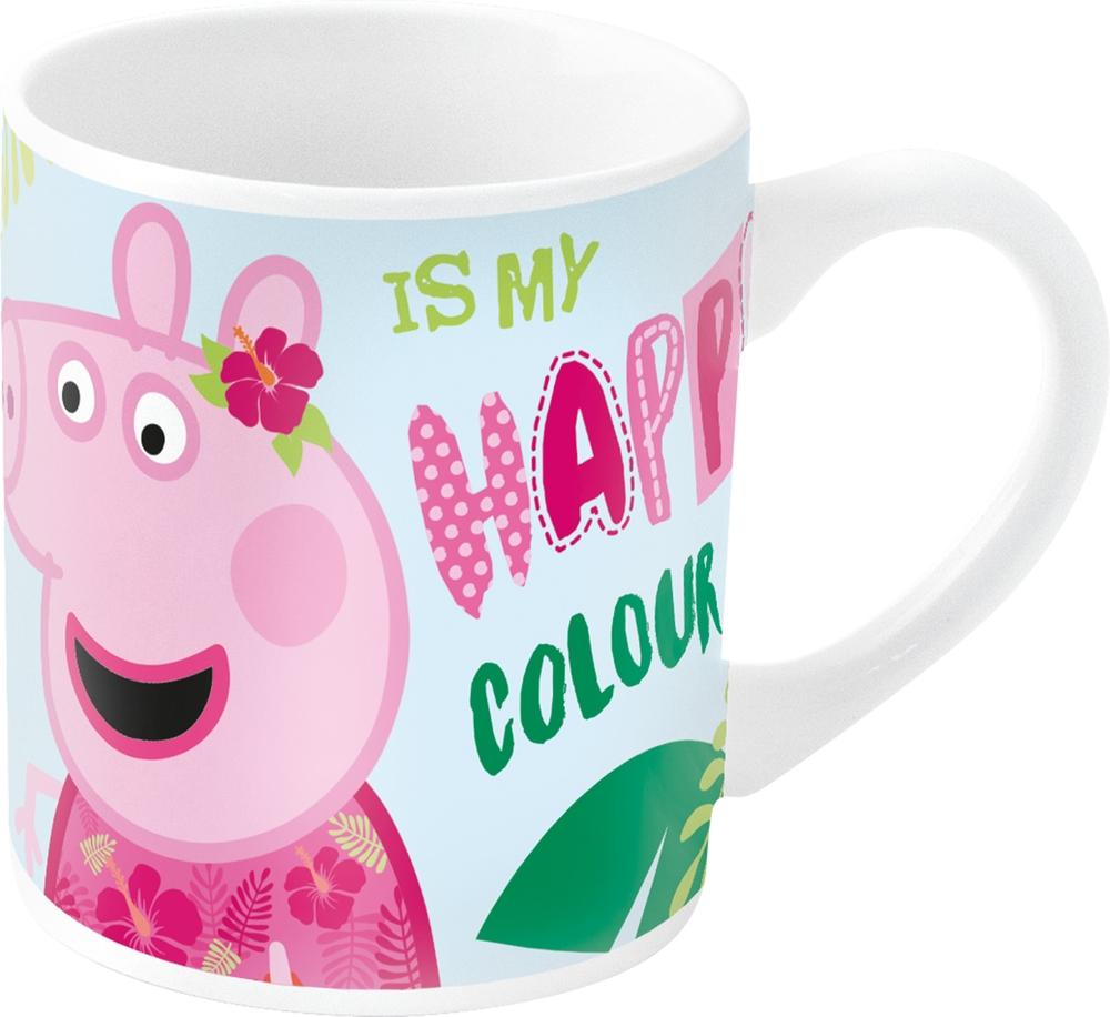 Кружка керамическая Stor Свинка Пеппа и Фламинго,