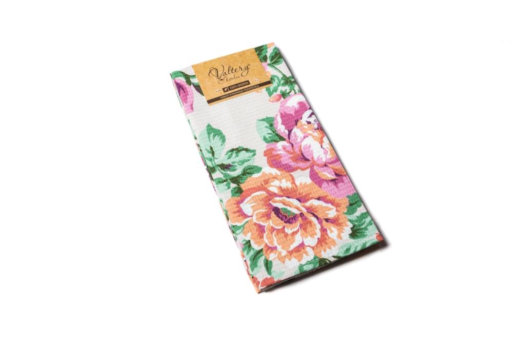 Полотенце кухонное Valtery Розалия Цвет: Сиреневый (50х60