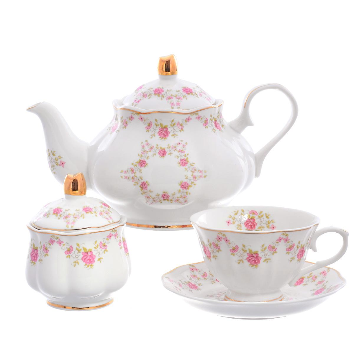 Чайный сервиз Royal Classics Huawei ceramics 14 предметов