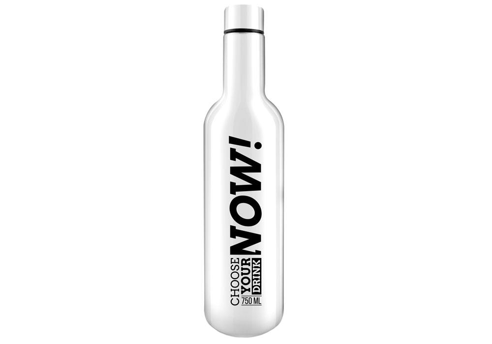 Фото - Термос бутылка LARA LR04-14 (White)