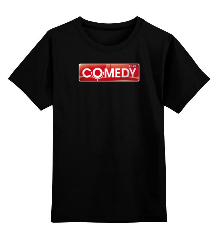 Детская футболка Printio Comedy club цв.черный р.152 0000000750092 по цене 990