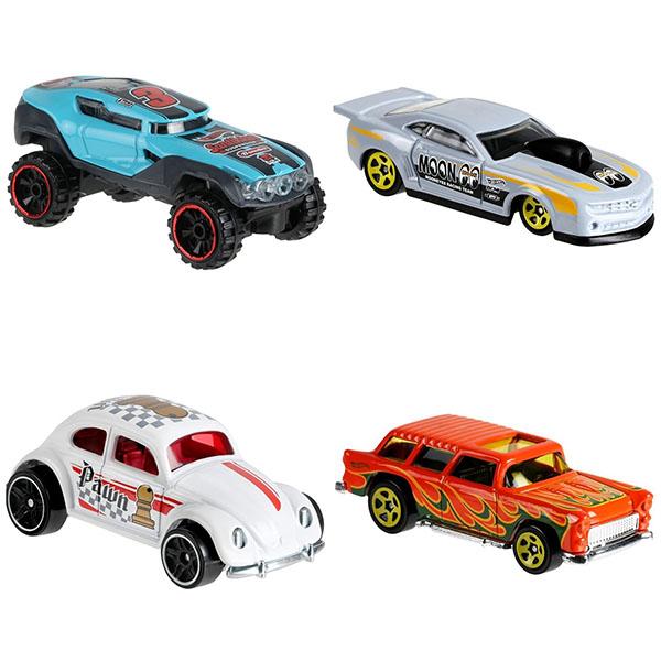 Базовая машинка Hot Wheels 1:64 в ассортименте C4982 Mattel