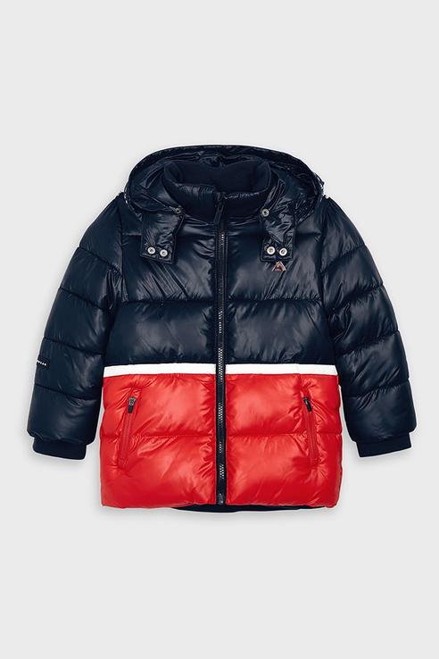 Стеганая куртка Mayoral 4471 цв.черный р.116 4471/_черный