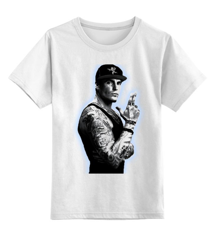 Купить 0000000738899, Детская футболка Printio Vanilla ice цв.белый р.152,