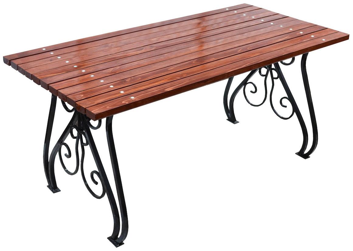 Стол для дачи Хоббика Вена 1,8 м махагон