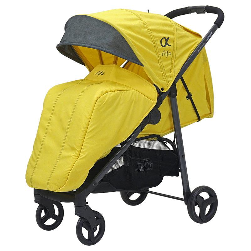 Купить Коляска прогулочная Rant ALFA Yellow,