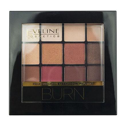 Палетка теней Eveline для век Burn