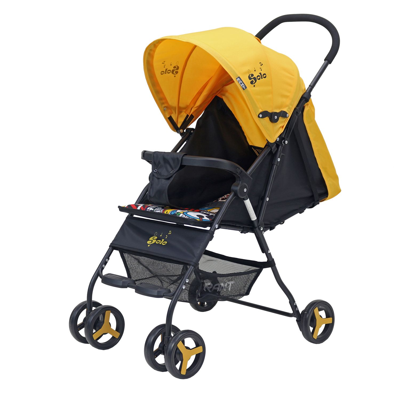 Коляска прогулочная Rant SOLO Yellow