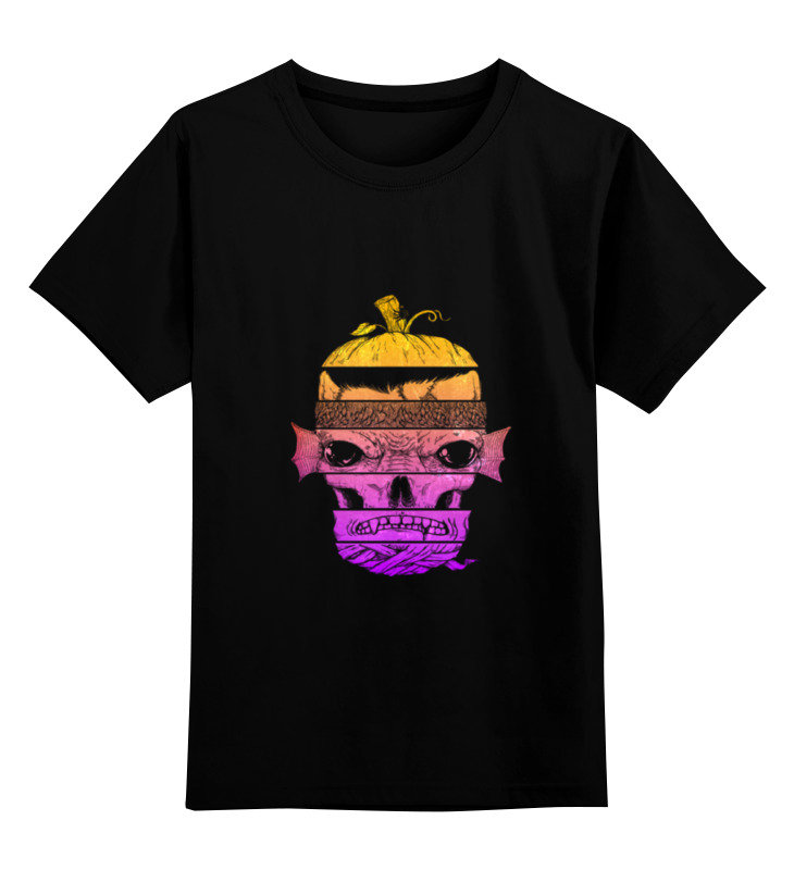 Детская футболка Printio Монстр цв.черный р.152 0000000735339 по цене 990