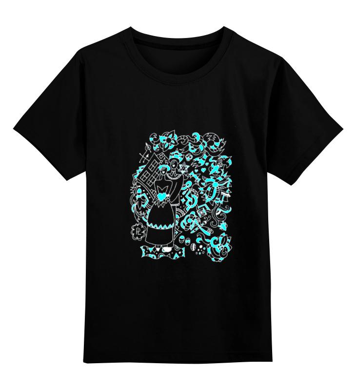 Детская футболка Printio Свадьба в стиле марка шагала цв.черный р.152 0000000731150 по цене 990