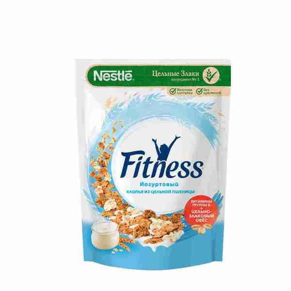 Хлопья из цельной пшеницы Nestle Fitness йогуртовый 160 г